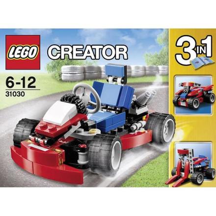 Röd Gokart, Lego Creator