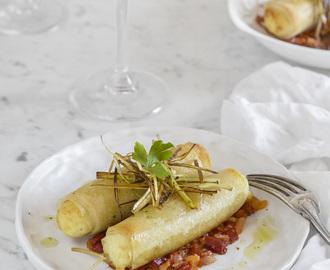 Recetas de de canelones de bacalao mytaste - Cocinar bacalao congelado ...