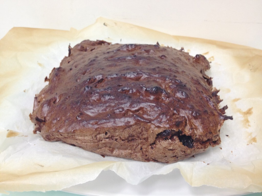 Brownie de Frutos Secos - Versão mais FIT com alfarroba