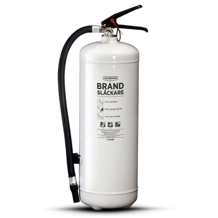 Brandsläckare Vit 55A 6Kg, Housegard