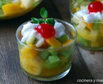Recetas de bizcocho de yogur de macedonia mytaste - Macedonia de frutas thermomix ...
