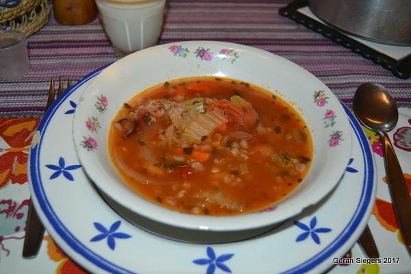 Bondsoppa från Toscana