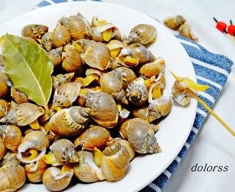 recetas de cocer caracolillos de mar mytaste