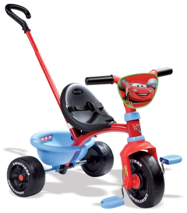 Trehjuling Be Move, Disney Cars, Smoby