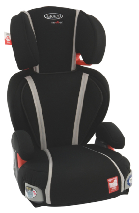 Bältesstol Logico LX Comfort, Black Stone, Graco