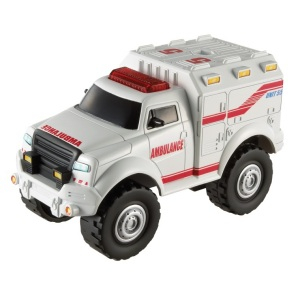 Matchbox Ambulans, Light & Sound Track