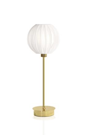 Globen Lighting Plastband Bordslampa Mässing 39 cm