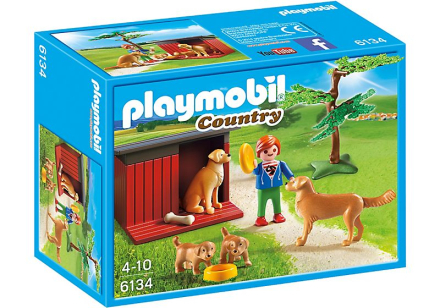 Golden Retriever Med Valpar, Playmobil