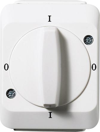 Eljo Aqua Stark strömbrytare IP44
