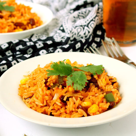 Veg Mexican Fried Rice Recipe
