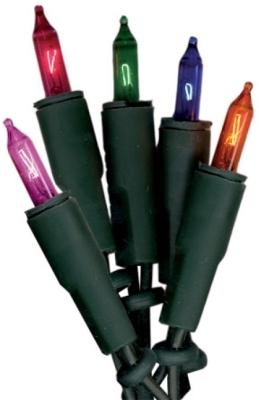 Basic Line inomhus ljusslinga 10 ljus multi