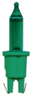 Pisellolampa push-in 12V grön, grön sockel
