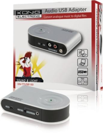 USB-adapter audio/phono