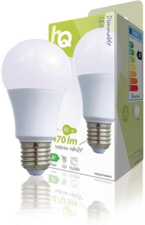 Dimbar LED-lampa A60 E27 6,5 W 470 lm 2 700 K
