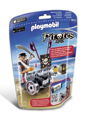 Pirat med svart kanon, Playmobil Pirates