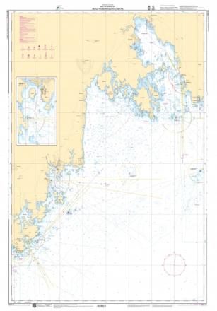 Sjökort 514 Skag, Nordmaling & Järnäs