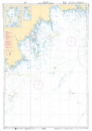 Sjökort 513 Järnäs, Hörnefors & Bredskär