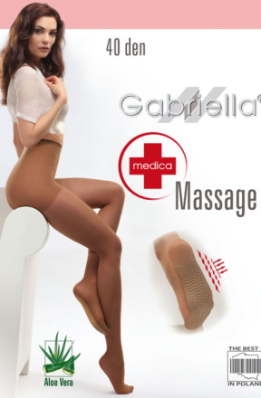 Gabriella Classic Massage Tights Strumpbyxor