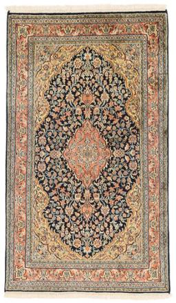 Kashmir äkta silke matta 76x131 Orientalisk Matta