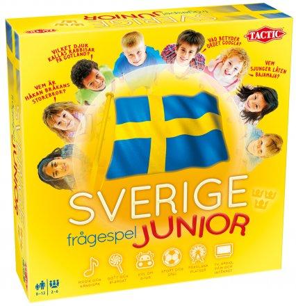 Frĺgespelet om Sverige för juniorer