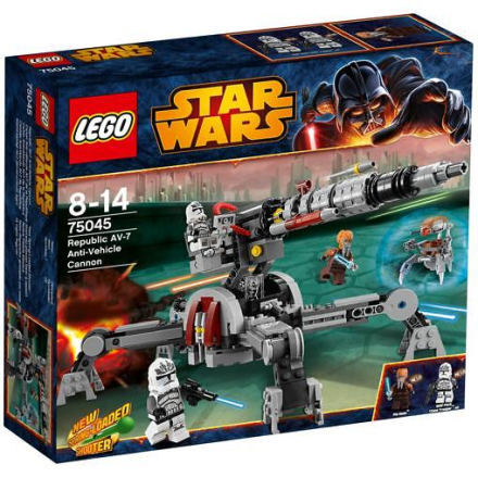 Republic AV-7 Anti-Vehicle Cannon, Lego Star Wars