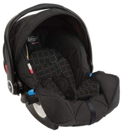 Babyskydd Logico S med bas, Mode Noir, Graco