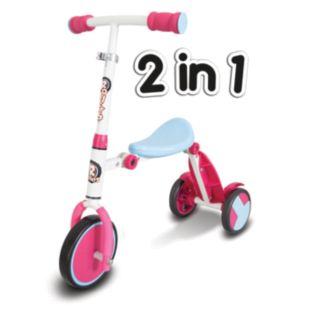 Trike scooter 2-in-1, Roller R1, Blĺ/Rosa