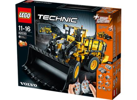 Fjärrstyrd Volvo L350F hjullastare, Lego Technic