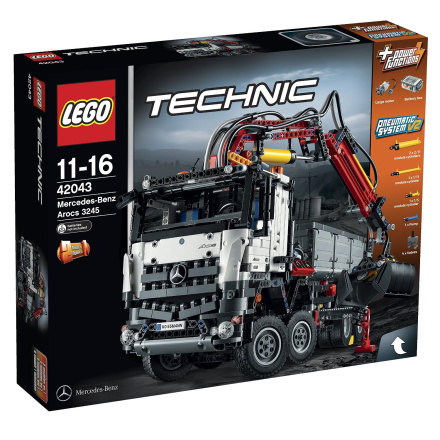 Mercedes-Benz Arocs 3245, Lego Technic