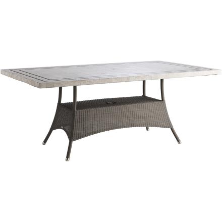Lansing matbord taupe 180x100 cm - Travertin