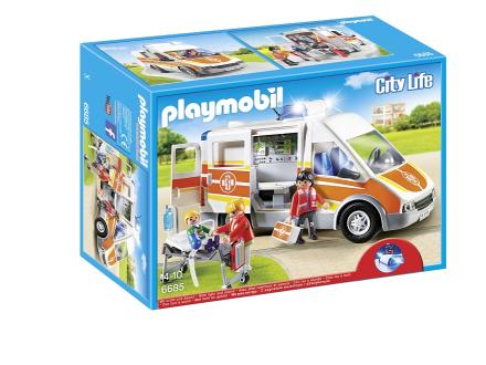 Ambulans med ljus och ljud, Playmobil (6685)