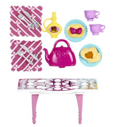 Barbie Decor Pack, Kaffeservis