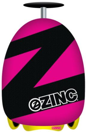 Zinc Flyte case scooter, Rosa