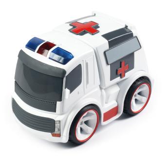 IR-styrd Ambulans med ljuseffekter, SilverLit