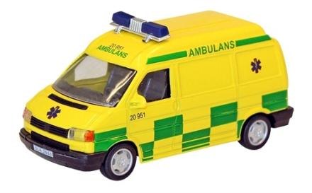 Ambulans Van 1:43, Junior Driver