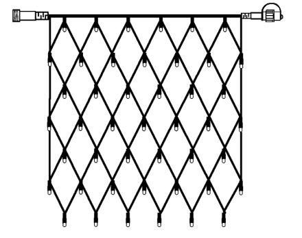 LED System 24 Nät 1x1m