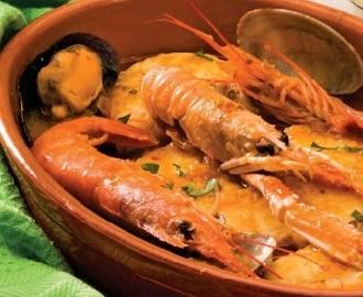 Recetas de zarzuela de pescado y marisco facil mytaste for Cocinar zarzuela