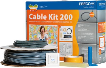 Ebeco Golvvärme Cable Kit 200