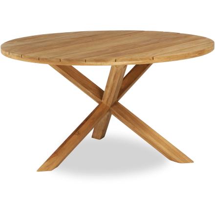 X-teak matbord Ø150 cm teak