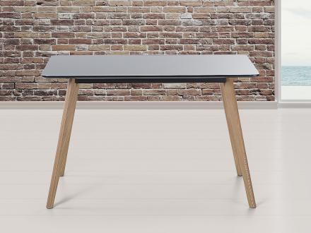 Matbord svart - köksbord - matsalsbord - 120x80 cm - FLY