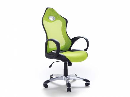Arbetsstol med armstöd grön - kontorsstol - iChair