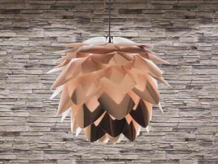 Modern taklampa koppar - hängande lampa - belysning - SILVIA