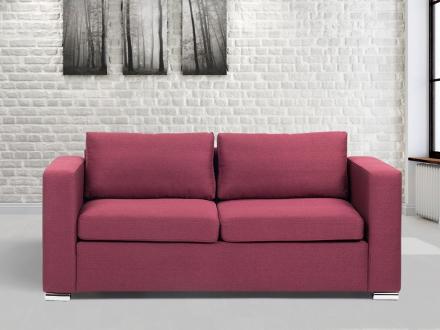 3-sits soffa burgundy - soffa - tygsoffa - HELSINKI