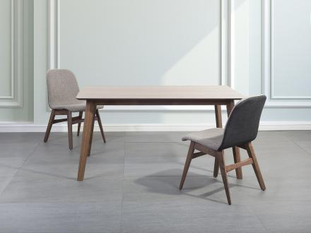 Matbord brun - köksbord - matsalsbord - 150x90 cm - MADOX