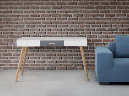 Skrivbord vit - arbetsbord - laptopbord - kontorsbord - bord - RUSH