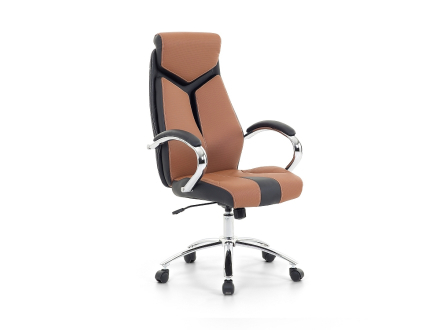 Arbetsstol brun - kontorsstol - kontorsmöbler - FORMULA 1