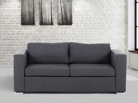 3-sits soffa mörkgrå - soffa - tygsoffa - HELSINKI