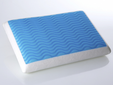Memoryskumkudde med gel 60x40 cm - kudde - ortopedisk - EMIN