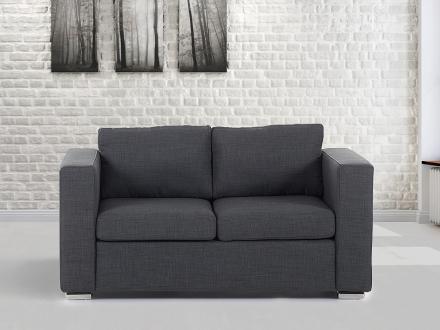 2-sits soffa mörkgrå - soffa - tygsoffa - HELSINKI