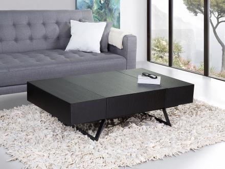 Soffbord svart - mattlackad - ALFENA